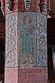 Parkentin Kirche Säulenmalerei Nord 1.jpg
