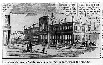 Burning of the Parliament Buildings in Montreal - Montreal Daily Star, January–February 1887, Carnival Issue