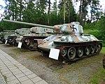Parola Tank Museum 097 - T34-85 (38570279381).jpg