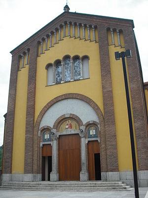 Castello di Brianza - Parish church.