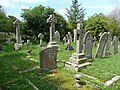 Part of the churchyard, Bude - geograph.org.uk - 1328482.jpg
