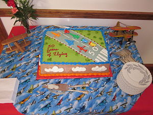 Party cake 50 Years Flying.JPG