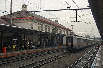 Senen - Senen Station, the main station of Senen Subdistrict.