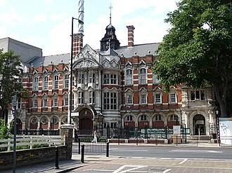 South London Gallery - Image: Passmore Edwards South London Art Gallery, Peckham Road geograph.org.uk 1441923