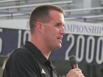 "Pat Fitzgerald - Fitzgerald at ""Meet the Team"" night, August 22, 2008"