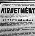 Patkánymentesítés, hirdetmény, 1972 Budapest - Fortepan 87815.jpg