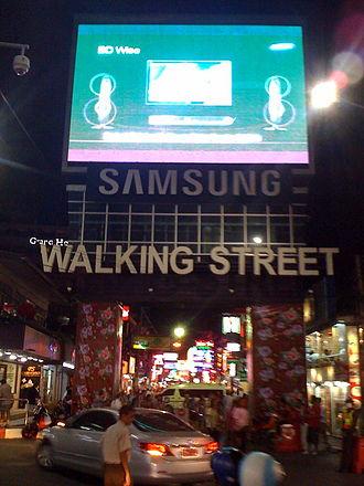 Walking Street, Pattaya - Image: Pattaya Walking Street