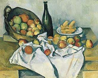 Helen Birch Bartlett Memorial Collection - Image: Paul Cézanne, The Basket of Apples