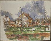 Paul Cézanne - Winter Landscape, Giverny.jpg