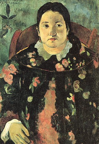 Matilda (1790 ship) - Suzanne Bambridge, great-granddaughter of James O'Connor, painted by Paul Gauguin in 1891.