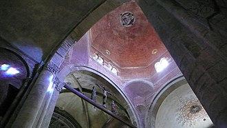 San Michele Maggiore, Pavia - View of the crossing dome.