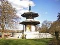 Peace Pagoda, Battersea Park - geograph.org.uk - 1573559.jpg