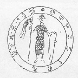 Conrad II, Duke of Bohemia - Seal of Conrad II Otto, Duke of Bohemia