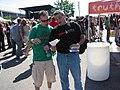 Peirce for Ohio Volunteers at Warped Tour (212749799).jpg