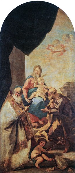 File:Pellegrini - Madonna con il Bambino ed i Santi Giuseppe e Cesareo-035rgb.jpg