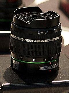 Pentax DA 10-17mm lens