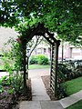 Pergola in Cloisters Pocket Park - geograph.org.uk - 823464.jpg