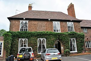 A. E. Housman - Home of A.E. Housman from 1860-1873 and again from 1878-1882. His younger brother Laurence was born here in 1865.