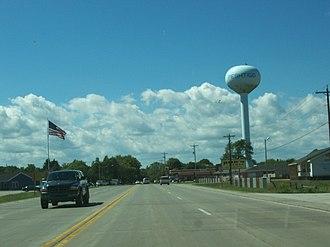Peshtigo, Wisconsin - Peshtigo from U.S. Route 41