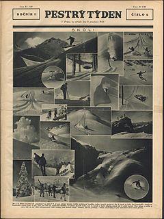 <i>Pestrý týden</i> 20th century Czech illustrated magazine