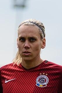 Petra Bertholdová Czech footballer