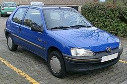 Peugeot 106 front 20071031