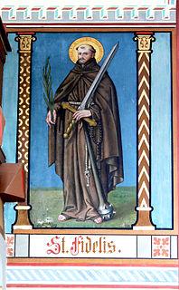 Fidelis of Sigmaringen Capuchin friar