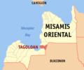 Ph locator misamis oriental tagoloan.png