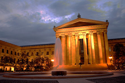 Philadelphia Museum of Art, informally called the Art Museum Philadelphia Art Museum.jpg