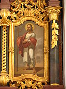 Apostle Philip with a Latin cross