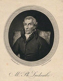 Philip Luckombe English printer and writer