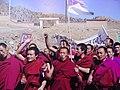 Photo of Monks Protesting - Tibet Museum - Tsuglagkhang Complex - McLeod Ganj - Himachal Pradesh - India (26775578915).jpg