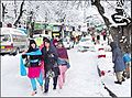Photo of azadays kashmir and it's most snowy scene with the tourists.jpg
