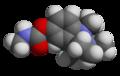 Physostigmine - 3D - Space-filling Model.png