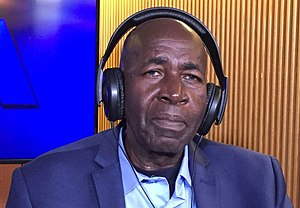 Pierre Claver Mbonimpa - Pierre Claver Mbonimpa speaking with the Voice of America in 2017