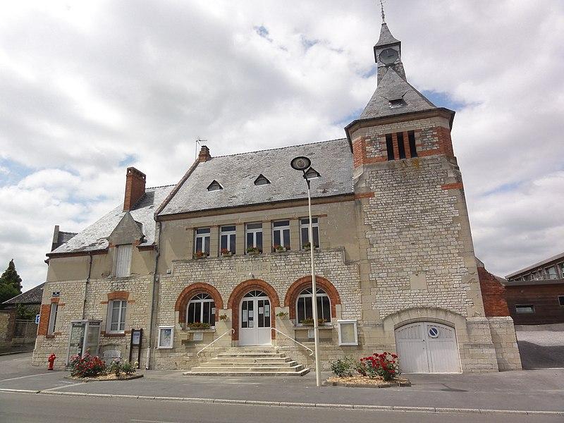 Pierrepont (Aisne) mairie