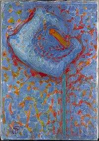 Piet Mondriaan - Aäronskelk (authentiek) - 0334296 - Kunstmuseum Den Haag.jpg