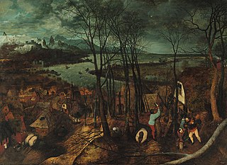 <i>The Gloomy Day</i> painting by Pieter Bruegel the Elder