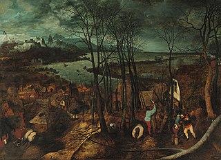 <i>The Gloomy Day</i> Painting by Pieter Bruegel the Elder