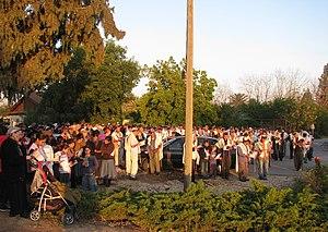 Birkat Hachama - Blessing of the Sun in Kfar Maimon, 8 April 2009