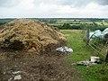 Pile of Organic Matter, Gateon Farm - geograph.org.uk - 1403592.jpg