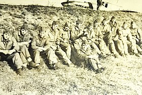 Pilots and crew of the 107th Assault Aviation Regiment, Yugoslav Air Force, cc.1949.jpg