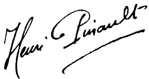 Henri Pinault - Image: Pinault signature 2