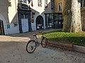 Pince-roues vélo de l'hôtel de ville de Cusset .jpg