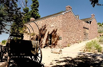Pipe Spring National Monument - Winsor Castle