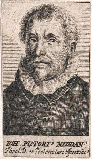 Nidda, Hesse - Johannes Pistorius (1600)
