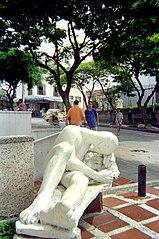 Guerrero en reposo