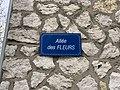 Plaque Allée Fleurs - Maisons-Alfort (FR94) - 2021-03-22 - 2.jpg