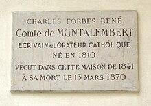 https://upload.wikimedia.org/wikipedia/commons/thumb/1/16/Plaque_Charles_de_Montalembert%2C_5_impasse_de_Valmy%2C_Paris_7.jpg/220px-Plaque_Charles_de_Montalembert%2C_5_impasse_de_Valmy%2C_Paris_7.jpg