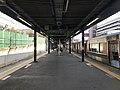 Platform of Sakurajima Station.jpg